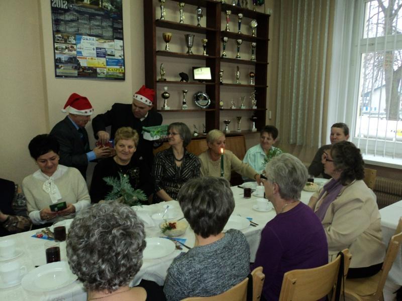 Spotkanie emerytów i rencistów DPS w Kobylej Górze