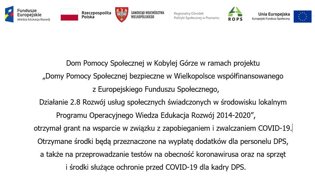 Europejski grant dla DPS