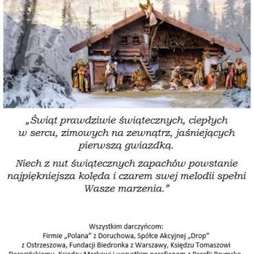 Wesołych Świąt! – Dziękujemy!